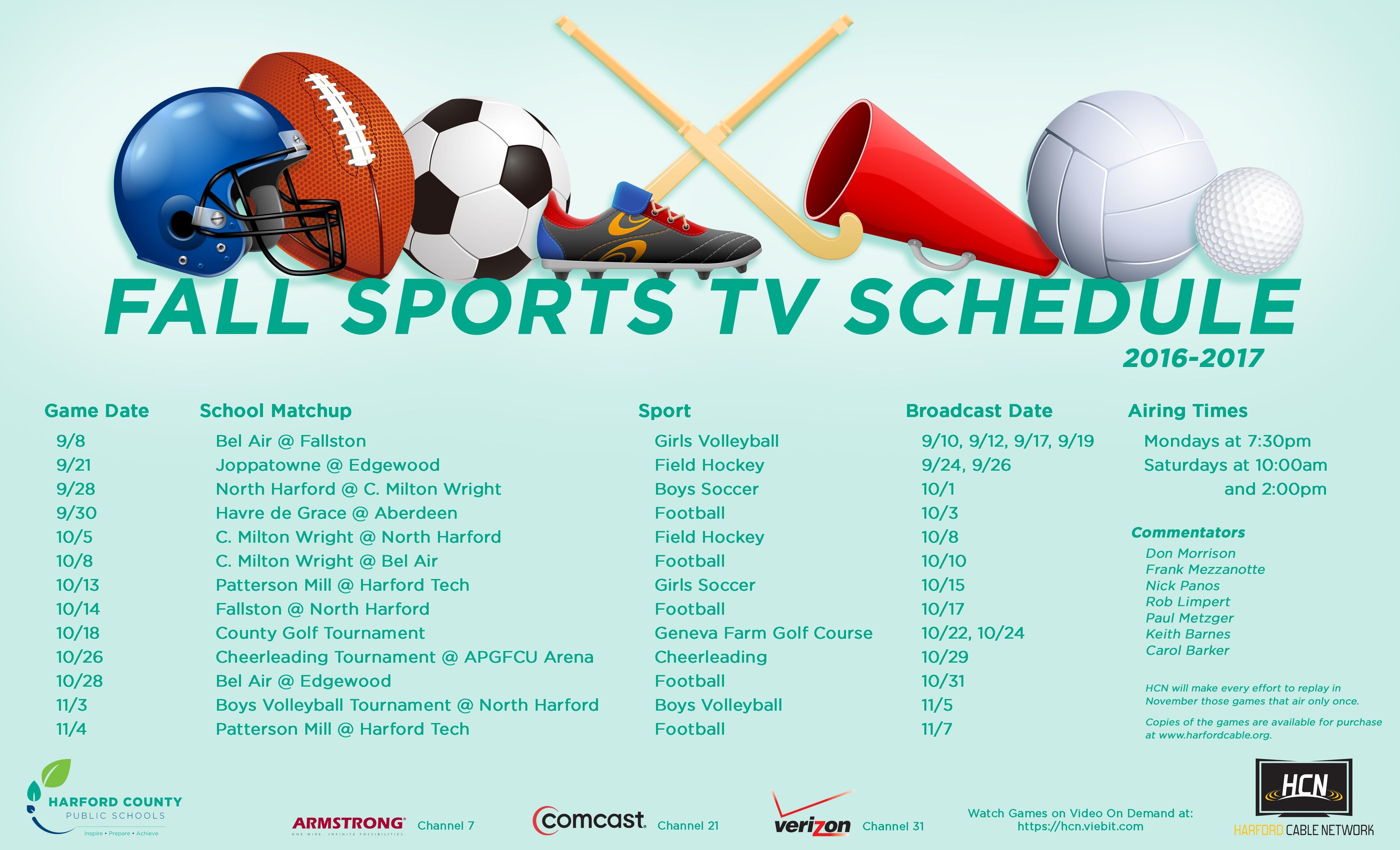 2016-17-fall-sports-schedule